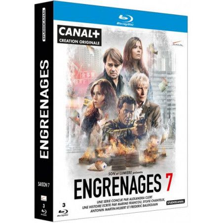 Coffret Engrenages, Saison 7 [Blu-Ray]